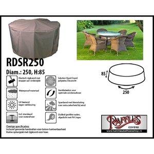Tuinmeubelhoes voor ronde tuinset, D: 250cm & H: 85 cm