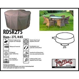 Beschermhoes voor ronde tuinset, D: 275 cm & H: 85 cm