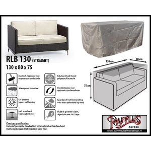 Raffles Covers RLB130straight, 130 x 80, H: 75 cm, taupe