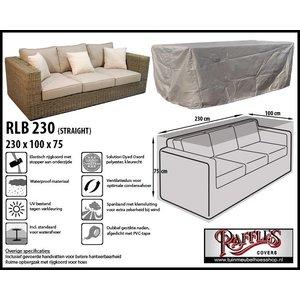 Hoes voor een loungebank, 230 x 100 H: 75 cm