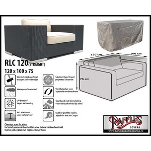 Raffles Covers RLC120straight, 120 x 100 H: 75 cm, taupe