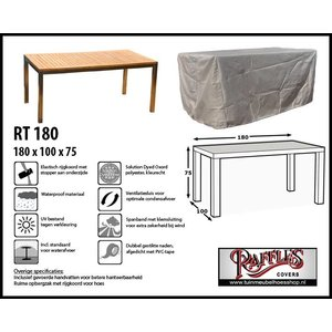 Tuinmeubelhoes voor tafel, 180 x 100 H: 75 cm