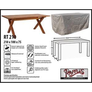Beschermhoes voor tuintafel, 210 x 100 H: 75 cm