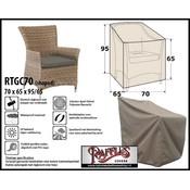Raffles Covers Tuinstoel afdekhoes 70 x 65 H:95/65cm