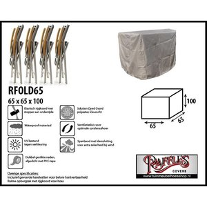 Hoes voor tuinstoelen, 65 x 65 H: 100 cm