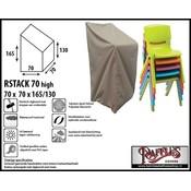 Raffles Covers Beschermhoes voor stapelstoelen 70 x 70 H: 165 cm