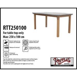 Beschermhoes voor tafelblad, 250 x 100 cm