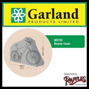 Afdekhoes voor fiets, 186 x 85 cm