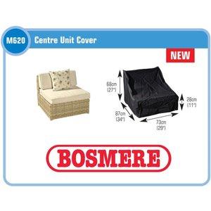 Hoes voor middenstuk modulaire loungeset, 87x73 H: 68/28 cm
