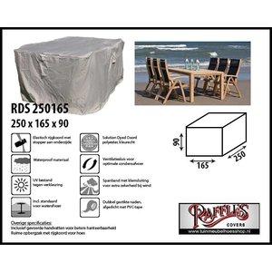 Tuinmeubelhoes voor tafel met stoelen, 250 x 165 H: 90 cm