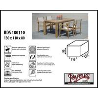 Hoes voor tuintafel en stoelen, 180 x 110 H: 80 cm