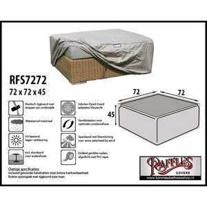 Raffles Covers RFS7272, 72 x 72 H: 45 cm, taupe