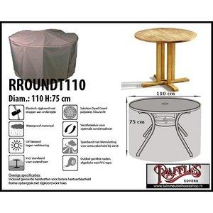 Hoes voor een ronde tuintafel, Ø 110 cm H: 75 cm