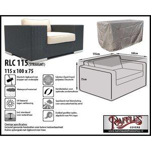 Raffles Covers RLC115straight, 115 x 100 H: 75 cm, taupe