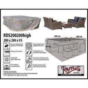 Lounge set hoes voor complete lounge set, 200 x 200 H: 95 cm