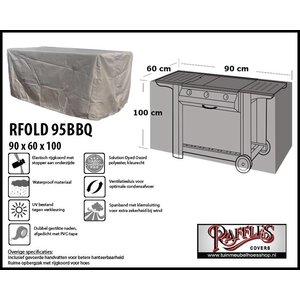 Raffles Covers RFOLD95bbq,  90 x 60 H: 100cm, taupe