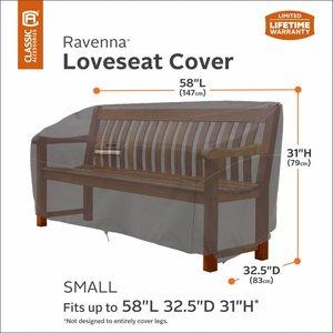 Hoes voor tuinbank of lounge bench, 147 cm