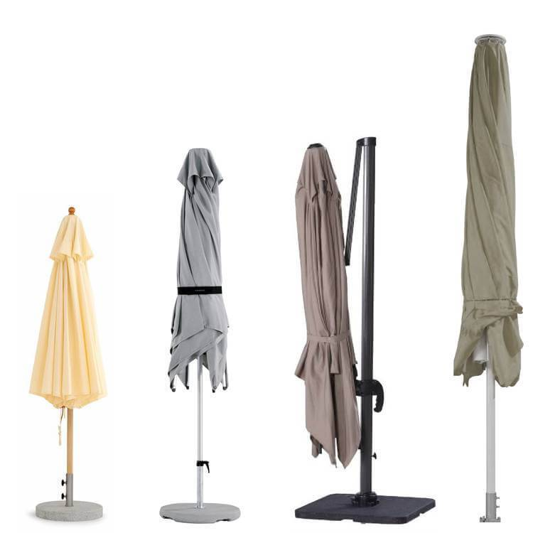 Recht model parasolhoes