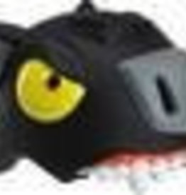 Crazy Stuff Childrens Helmet: Black Panther S/M