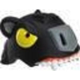 Crazy Stuff Childrens Helmet: Black Panther S/M