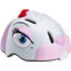 Crazy Stuff Childrens Helmet: White Bunny