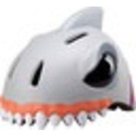 Crazy Stuff Childrens Helmet: White Shark