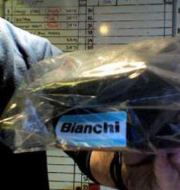 Bianchi bianchi Wedge saddle bag black