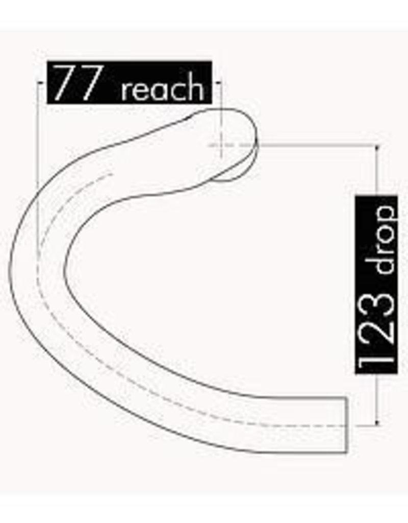 3T 3T Ergonova pro alloy drop bar 44cm white