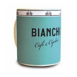 Bianchi Milano Cafe & Cycles Mug