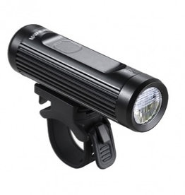 Ravemen CR900 Touch USB Rechargeable DuaLens Front Light with Remote in Matt/Gloss Black (900 Lumens)