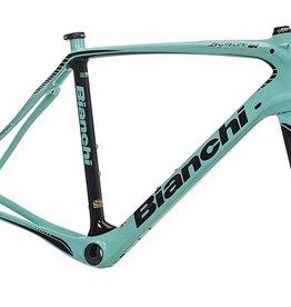 Bianchi INFINITO CV (Frame+Fork+Headset), 55, Celeste