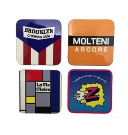 Global Cycling Club Set x4 Coasters