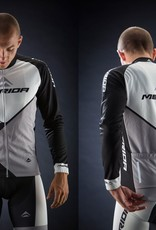 MERIDA WHITE/GREY TRIESTE DESIGN LONG SLEEVE JERSEY