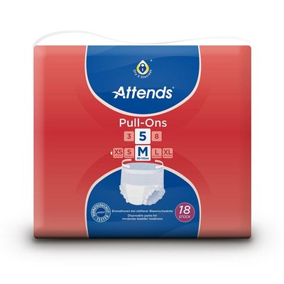 Attends Attends Pull-Ons Plus 5 M (18 stuks)