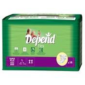 Depend Depend Flex Super Plus Large (14 stuks)
