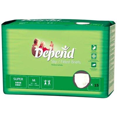 Depend Depend Slip Super Medium (15 stuks)