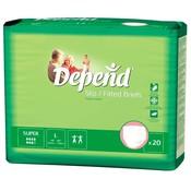 Depend Depend Slip Super Large (15 stuks)