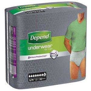 Depend Depend Pants For Men Super Small/Medium
