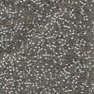 Miyuki DB0630 Delica kralen 11/0 Silver Lined Taupe Alabaster (5gr)