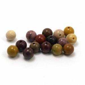 Moakiet rond 6 mm (per stuk )