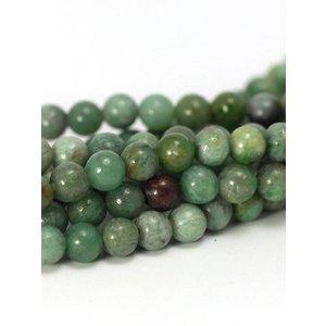 Jade kralen 'african jade' 4 mm (streng)
