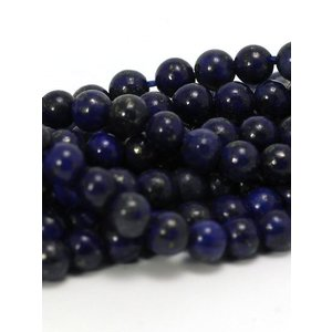 Lapis Lazuli kralen 4 mm rond (streng)