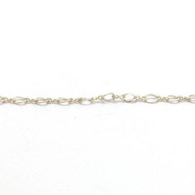 925 zilveren ketting, per 10cm (2,5 mm)