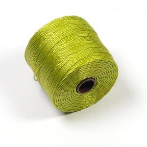 S-Lon Bead Cord Chartreuse
