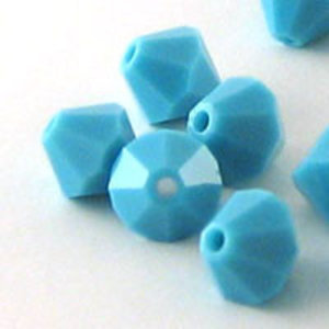 Swarovski Bicone 6 mm #01 Turquoise
