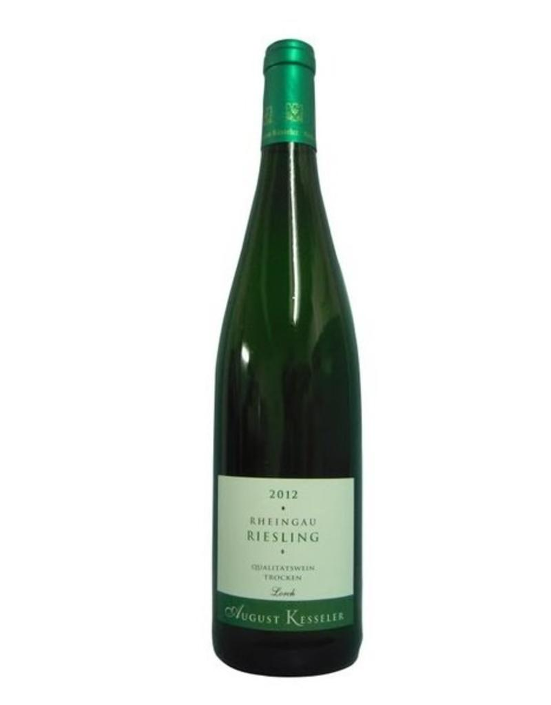 2012 - August Kesseler - Lorcher Riesling
