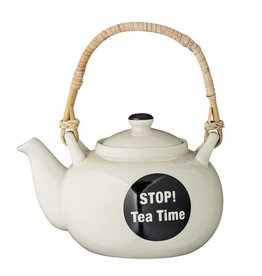 Bloomingville Bloomingville Cathrine teapot white