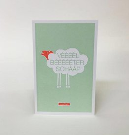 Papette Papette Enna greeting card with enveloppe veel beterschap