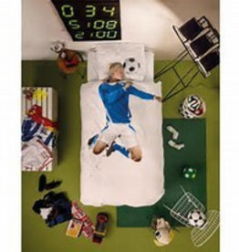 Snurk Bedding Snurk Soccer Champ Blue 140 x 200/220
