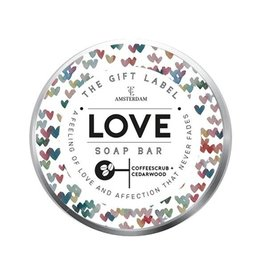 The Gift Label The Gift Label coffee soap bar 70gr - love